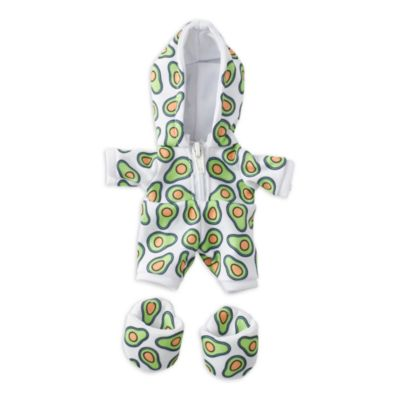 Disney Store nuiMOs Small Soft Toy Avocado Onesie with Slippers