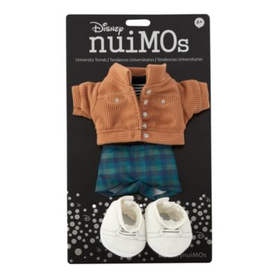 Disney Store nuiMOs Small Soft Toy Corduroy Jacket and Striped T-Shirt Outfit Set