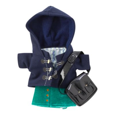 Disney Store nuiMOs Small Soft Toy Duffle Jacket and Check Shirt Outfit Set