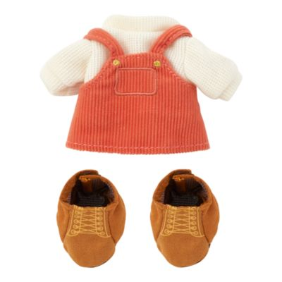 Disney Store Ensemble Salopette avec pull et bottes pour peluches nuiMOs