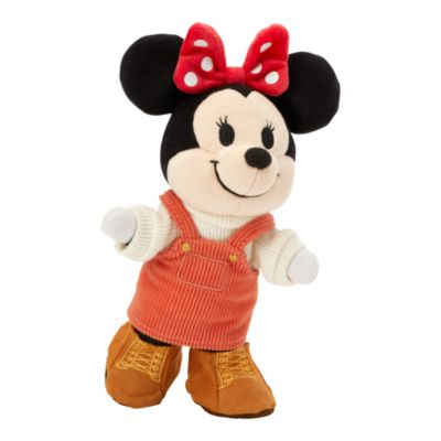 Disney Store nuiMOs Small Soft Toy Overalls with Sweater and Boots Set