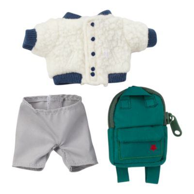Disney Store nuiMOs Small Soft Toy Sherpa Jacket, Trousers and Backpack Set