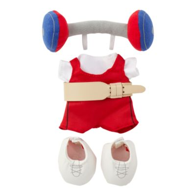 Disney Store nuiMOs Small Soft Toy Weight Lifter Outfit Set