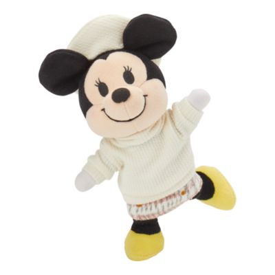 Disney Store nuiMOs Small Soft Toy Sweater and Plaid Skirt with Beret
