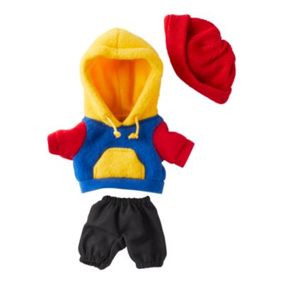 Disney Store nuiMOs Small Soft Toy Colour Block Sweatshirt with Jogging Bottoms