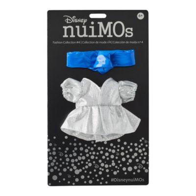 Abito argentato con fascia blu per peluche piccoli nuiMOs Disney Store