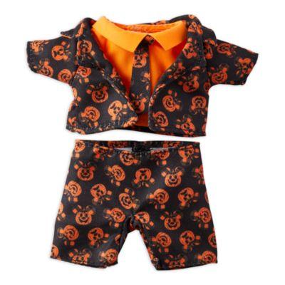 Completo di Halloween con cravatta per peluche piccoli nuiMOs Disney Store