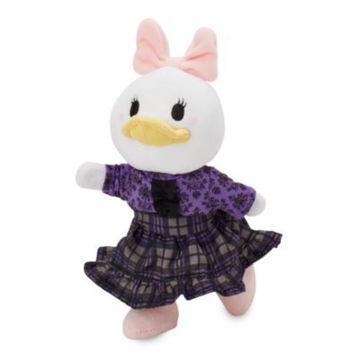 Disney Store nuiMOs Small Soft Toy Happy Haunts Shirt with Plaid Skirt