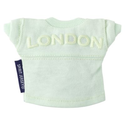 Felpa London verde menta per peluche piccoli nuiMOs Spirit Jersey Disney Store