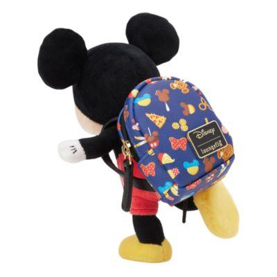 Loungefly mochila estampado comida, Disney Parks, peluche pequeño nuiMOs