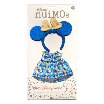 Disney Store nuiMOs Small Soft Toy Celebration Dress With Headband