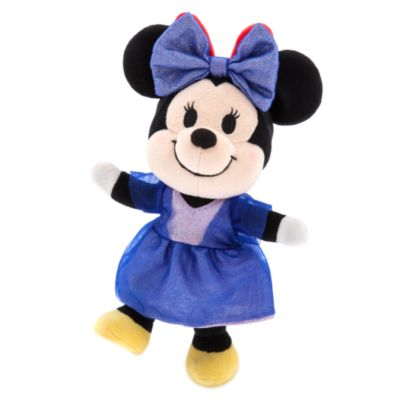 Vestido con lazo azul para celebración, peluche pequeño nuiMOs, Disney Store