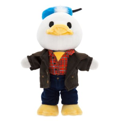 Disney Store nuiMOs Small Soft Toy Plaid Shirt With Corduroy Trousers and Jacket