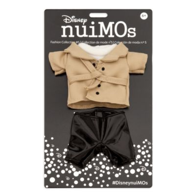 Disney Store nuiMOs Small Soft Toy Sweater With Trench Coat and Trousers