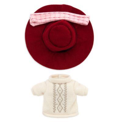 Completo con abito in maglia, sciarpa scozzese e cappello per peluche piccoli nuiMOs Disney Store