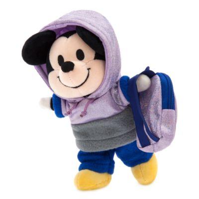 Sudadera con capucha, pantalón de chándal y mochila, peluche pequeño nuiMOs, Disney Store