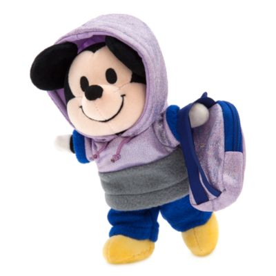 Disney Store nuiMOs Small Soft Toy Hooded Sweatshirt With Tracksuit Bottoms and Backpack