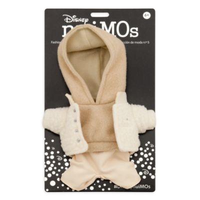 Disney Store Ensemble sweatshirt à capuche beige, veste et pantalon pour petites peluches Disney nuiMOs