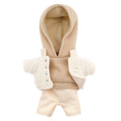 Sudadera beige con capucha, chaqueta y pantalón, peluche pequeño nuiMOs, Disney Store