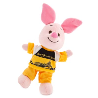 Disney Store nuiMOs Small Soft Toy Vault Yellow and White Top and Trousers