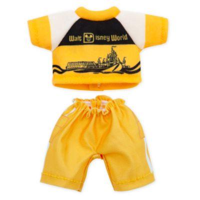 Disney Store - nuiMOs - Vault Kollektion - Gelbes und weißes Oberteil und Hose für nuiMOs Kuschelpuppen