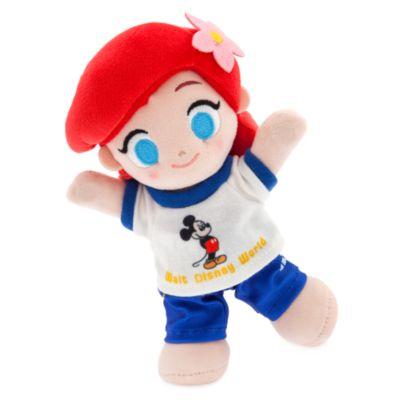 Completo con maglia blu e bianca e pantaloni collezione Vault per peluche piccoli nuiMOs Disney Store