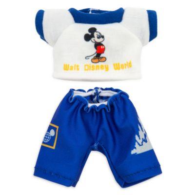 Camiseta y pantalón azul y blanco peluche pequeño nuiMOs, Vault, Disney Store