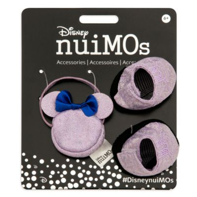 Disney Store nuiMOs Small Soft Toy Iridescent Trainers and Purse