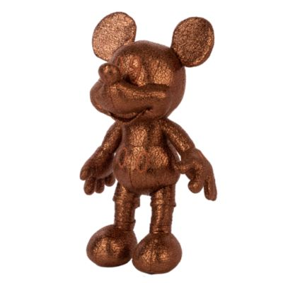 Disney Store Mickey Mouse Bronze Mini Bean Bag