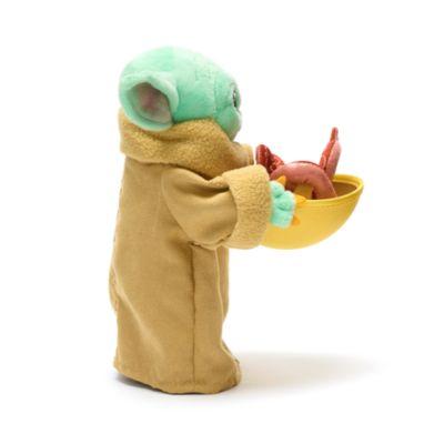Disney Store Peluche miniature Grogu avec bouillon de calamar, Star Wars