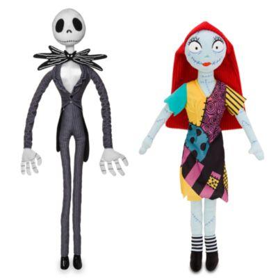 Coppia di peluche medi Jack Skeletron e Sally Nightmare Before Christmas Disney Store