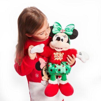 Disney Store Peluche moyenne Minnie, Holiday Cheer