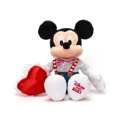 Disney Store Mickey Mouse Sweetheart Medium Soft Toy