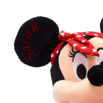 Disney Store Minnie Mouse Sweetheart Medium Soft Toy