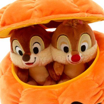 Disney Store Chip 'n' Dale Halloween Soft Toy Set