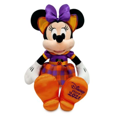 Disney Store Minnie Mouse Halloween Small Soft Toy