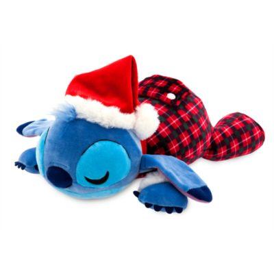 Disney Store Peluche moyenne Cuddleez Stitch festive, Lilo & Stitch