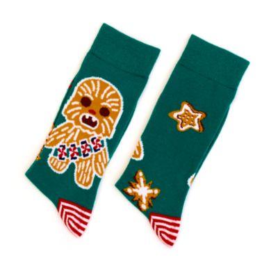 Disney Store - Star Wars - Chewbacca - Socken im Weihnachtsdesign für Erwachsene