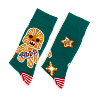 Disney Store Chewbacca Festive Socks For Adults, Star Wars