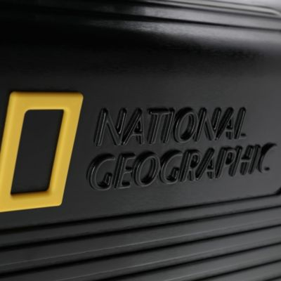 Disney Store National Geographic Rolling Luggage