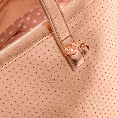 Borsa a spalla Topolino oro rosa Disney Store