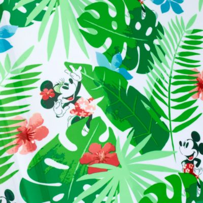 Disney Store Valise à roulettes Mickey et Minnie Tropical Hideaway