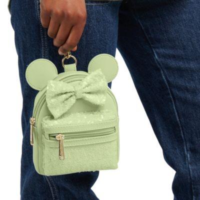 Loungefly - Minnie Maus - Paillettenbesetzte Tasche mit Handschlaufe in Mint