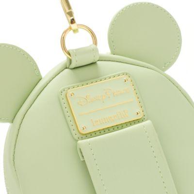 Loungefly Pochette à sequins Minnie, Mint Colour Story