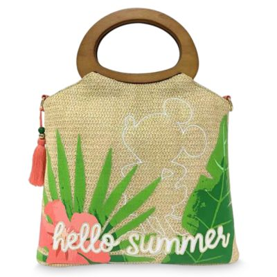 Disney Store Mickey Mouse Tropical Hideaway Tote Bag