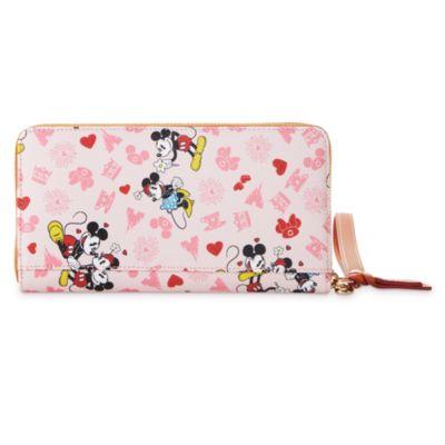 Dooney & Bourke Portefeuille Mickey et Minnie Love