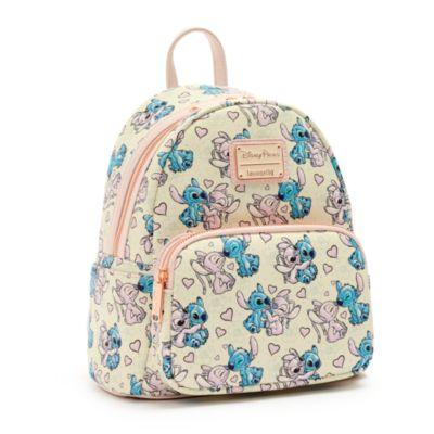 Loungefly Mini sac à dos Stitch et Angel