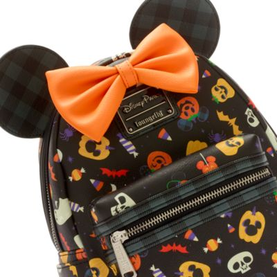 Loungefly Minnie Mouse Halloween Mini Backpack