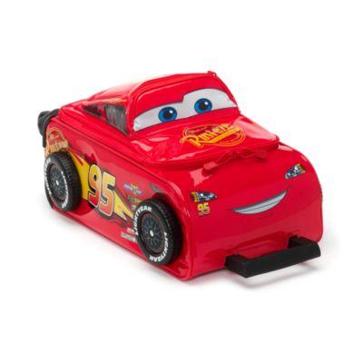 Disney Store Lightning McQueen Rolling Luggage, Disney Pixar Cars 3