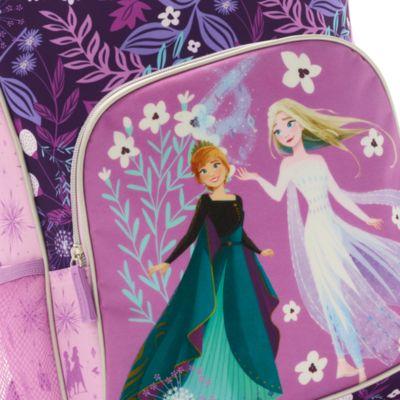 Disney Store Sac à dos à roulettes Anna et Elsa, La Reine des Neiges 2